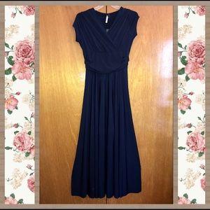 Long Navy Dress - Size 3X